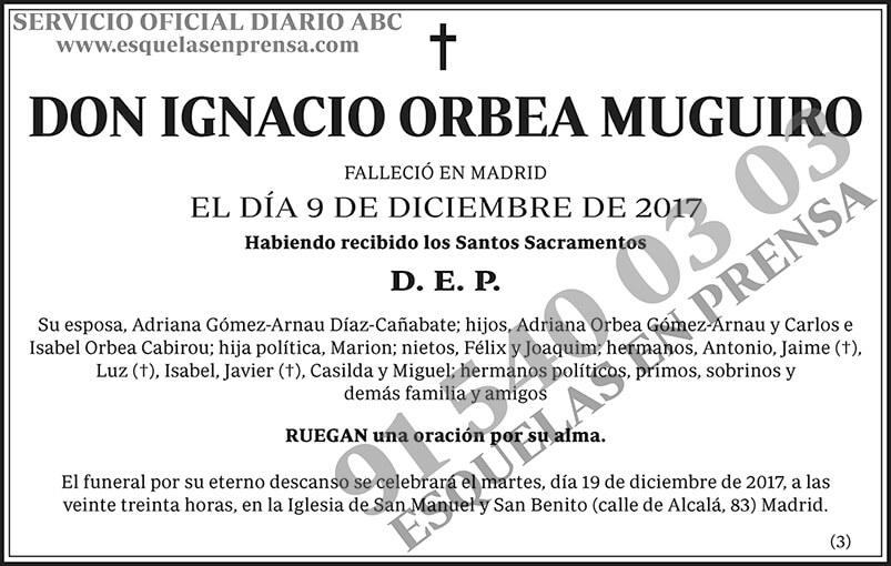 Ignacio Orbea Muguiro